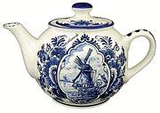 Delft Blue Tea Pot