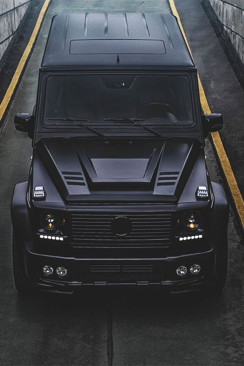 Mercedes benz g class brabus crusin pinterest g for Matte black mercedes benz