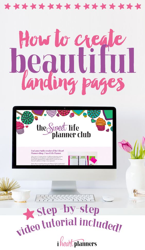 How to Create Beautiful Landing Pages | Beautiful, Help me ...