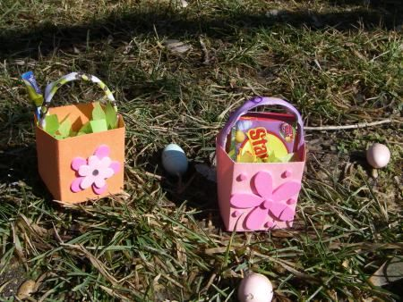 Make a Easter basket for your AG doll!: