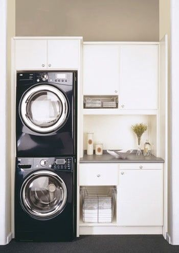 tiny laundry room...guesthouse: