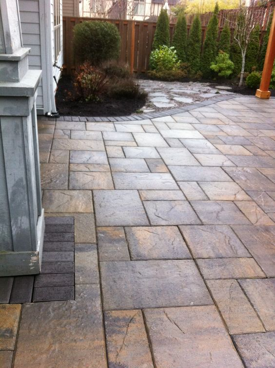 Paving Pattern Patio And Portland Oregon On Pinterest