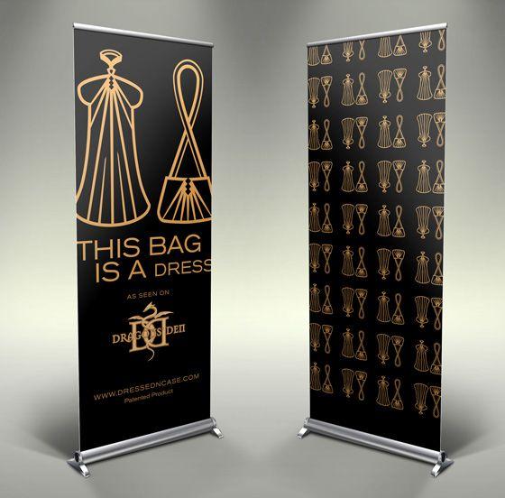 20 creative vertical banner design ideas tradeshow booth designs