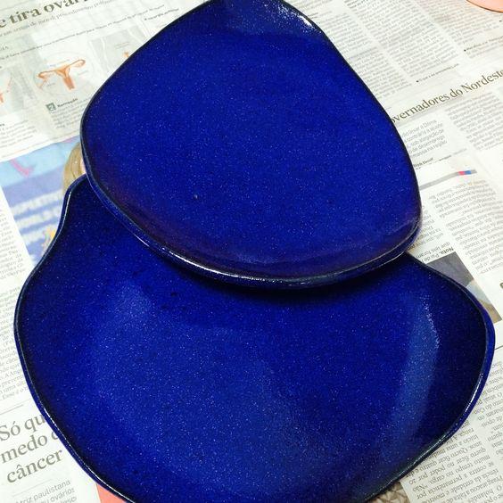 Cerâmica/Modelagem/Cobalto