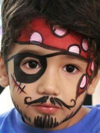 Рисунки на лице для детей1