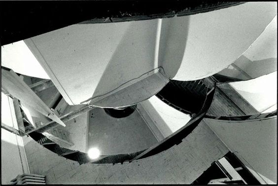 Gordon Matta-Clark, Circus or The Caribbean Orange, January 1978, Museum of Contemporary Art, Chicago. Photo: Tom Van Eynde