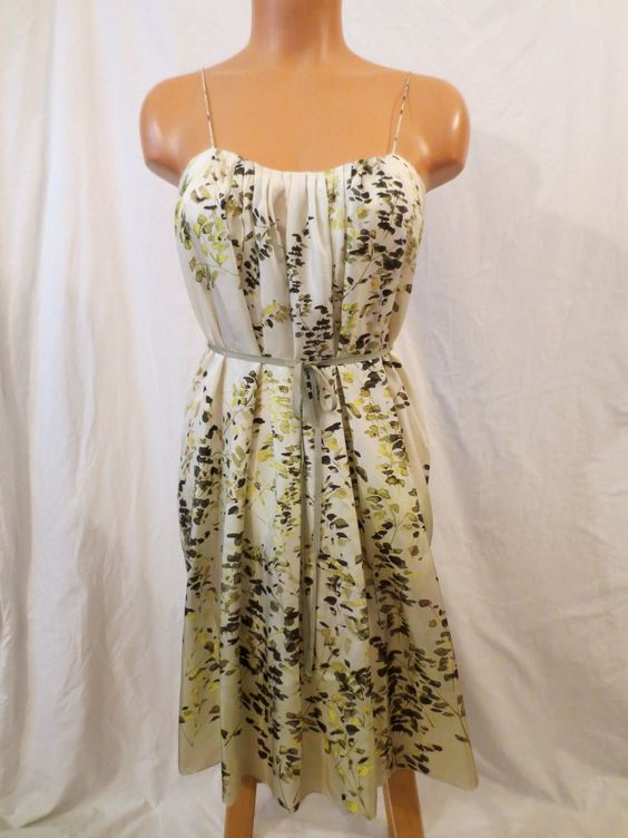 BRIAN REYES gathered silk dress - $29.99 at JOHNNY BOMBSHELL #frock #silk #spring #BrianReyes #Anthropologie