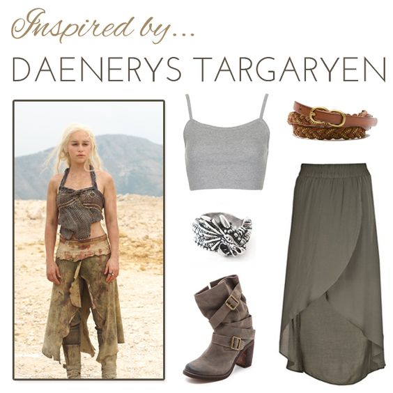 10 everyday game of thrones outfits that you can buy for Daenerys targaryen costume tutorial