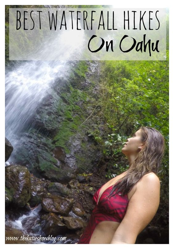 Because Hawaii isn't all about beautiful beaches. Here is a guide to the best waterfall hikes on Oahu.