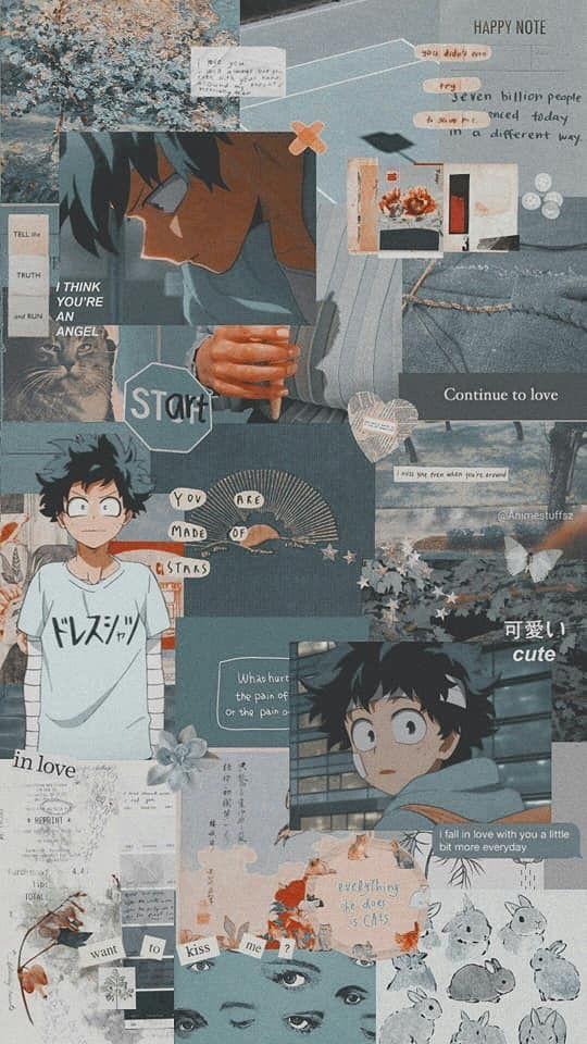 Izuku Midoriya Wallpaper Cute Anime Wallpaper Anime Wallpaper Iphone Hero Wallpaper