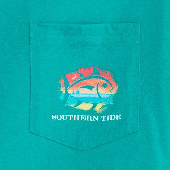 Skull Beach T-shirt   Southern Tide