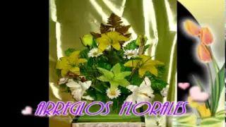ARREGLOS FLORALES (CON FLOR ARTIFICIAL.) - YouTube