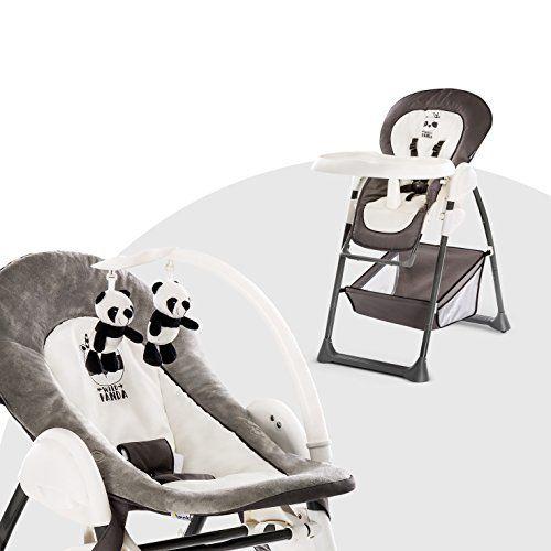 Hauck Sit N Relax Chaise Haute Bebe 3 En 1 Transat Bebe Et Chaise Pour Enfants Avec Position Couchee Avec Arc En 2020 Chaise Haute Chaise Enfant Chaise Haute Bebe