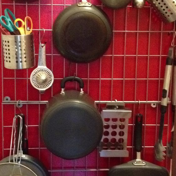 Great pots and pan rack!!