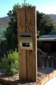 10 best Letterbox Ideas images on Pinterest   Architecture, Modern mailbox  and Diy house numbers