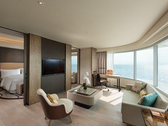 Best Conrad Manila Hotel Philippines Diplomatic Suite Living 400 x 300