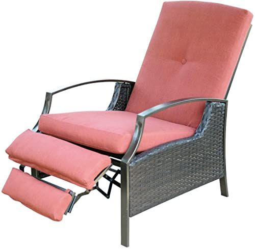 Enjoy Exclusive For Sunlife Patio Recliner Lounge Chair Resinweave All Weather Wicker Plush Cushions Weather Resistant Fabric Relaxing Adjustable Positions In 2020 Lounge Chair Outdoor Outdoor Recliner Patio Rocking Chairs