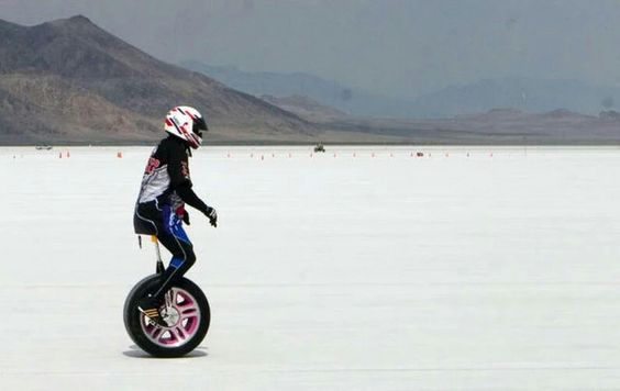 Breaking a land speed record at Bonneville