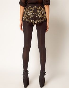i just fell in love with a pair of hot pants