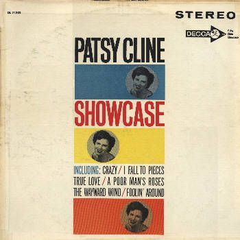 Patsy Cline Showcase Vinyl Album #CountryMusic #Classic #TurnipBoutique