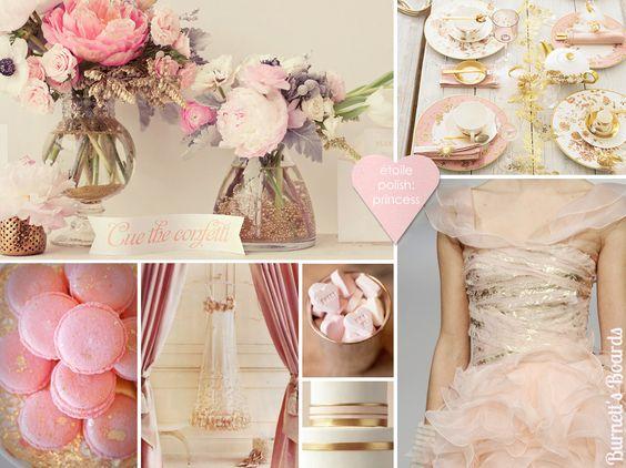 rosa e ouro