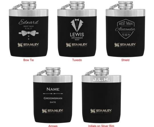 Personalised Hip Flasks For Wedding Favours Thank You Gifts Ideas Presents Token