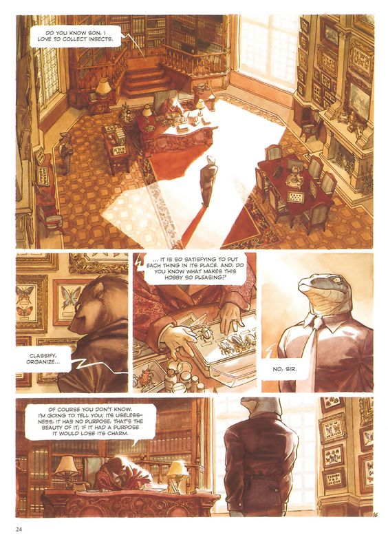 Blacksad: Somewhere Within the Shadows, written by Juan Diaz Canales and illustrated by Juanjo Guarnido.
