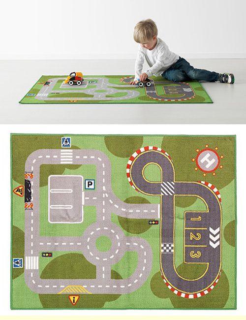 10 alfombras infantiles para jugar 1 alfombra tapete de for Alfombra ninos ikea