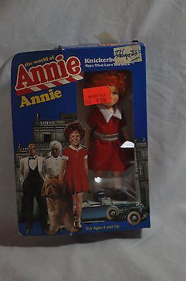 """Vintage 1982 knickerbocker the world of #annie 6"""" little #orphan doll ##3856 new ,  View more on the LINK: http://www.zeppy.io/product/gb/2/172105124449/"""