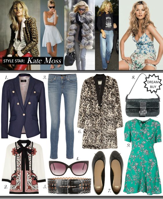 Kate Moss Style Star