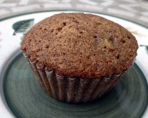 Zucchini Cinnamon Muffins