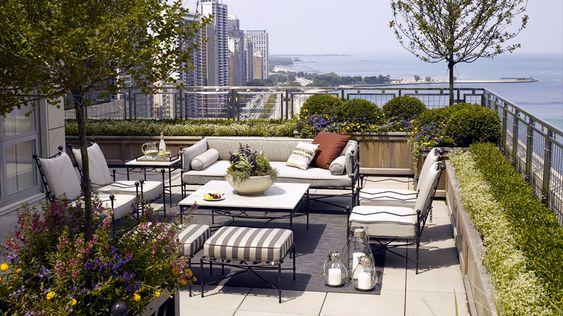 옥상 정원, 정원 and 시카고 on Pinterest