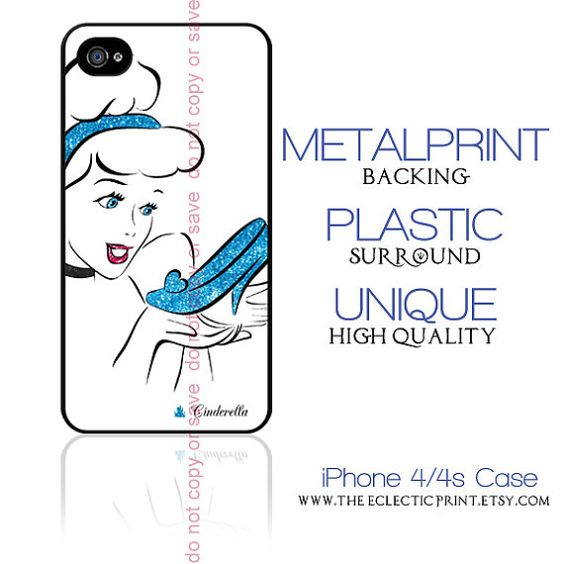 Disney Princess Cinderella Minimalist iPhone 4 by TheEclecticPrint, $28.50