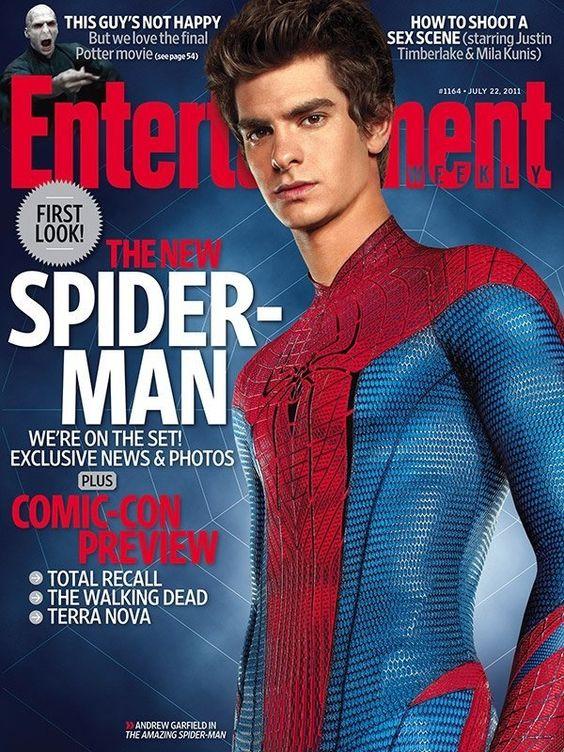 Andrew Garfield-BEST Spider-man ever!!!!