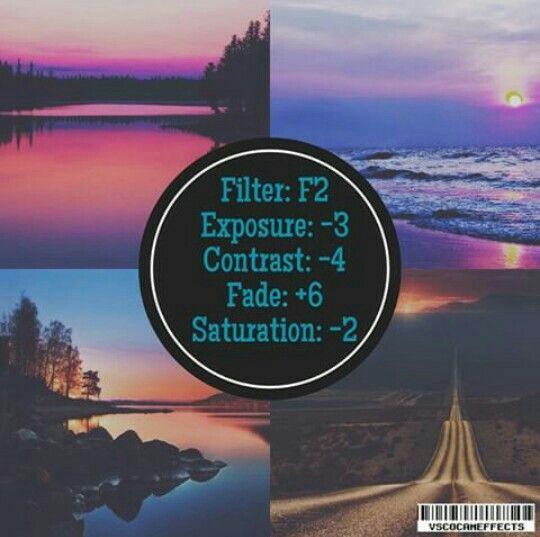 F2 Exposure -3 Contrast -4 Fade +6 Saturation -2