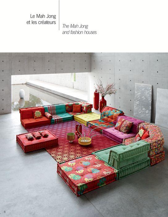 Roche Bobois Deco Salon Marocain Idee Deco Orientale Deco Salon