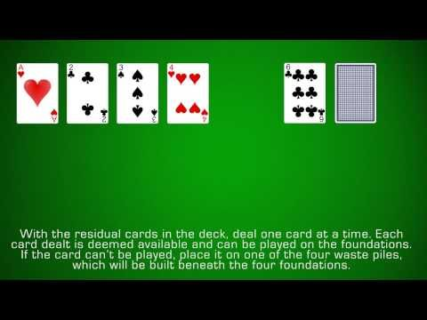 Learn How To Play Calculation Solitaire With Easy To Understand Instructions And Video Solitaire Card Game Card Games Learning