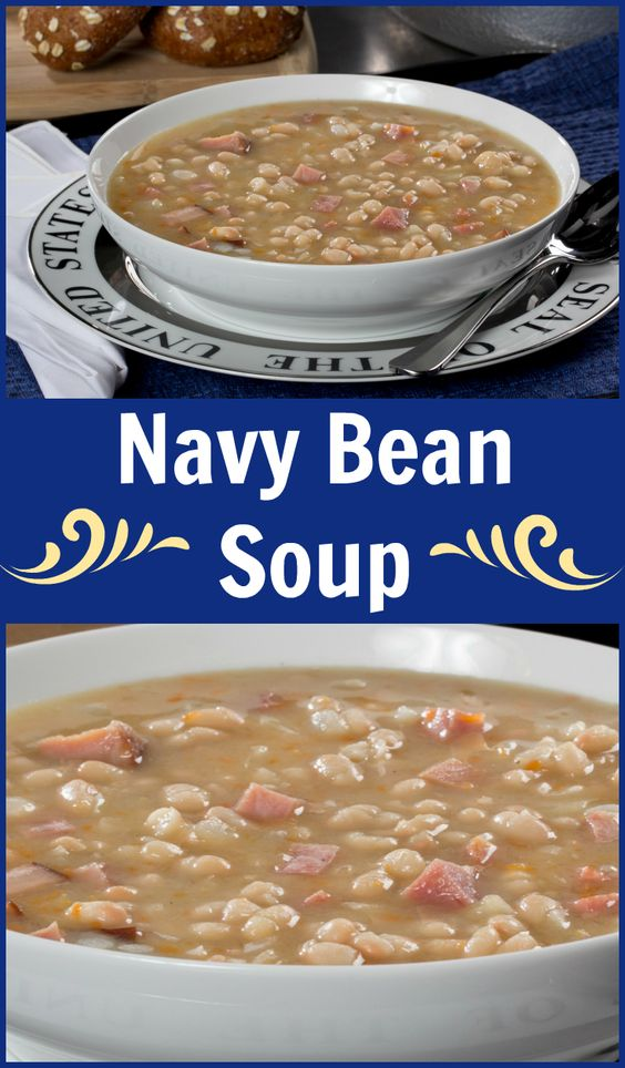 Cozy up to a comforting bowl of Navy Bean Soup that's full of all the classic taste you love, but without all the work!