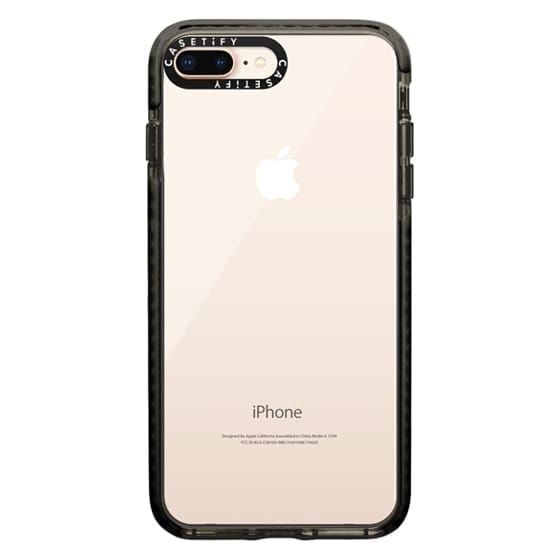 Clear Iphone 8 Plus Case Casetify Iphone Iphone Phone Cases Clear Iphone Case