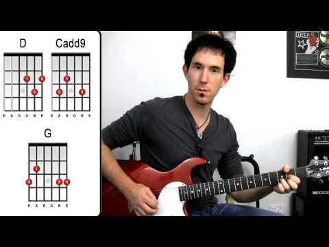 Sweet Home Alabama by Lynyrd Skynyrd - Easy Beginners How To Play Guitar Lessons