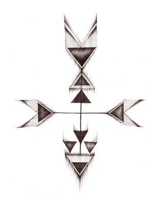 arrow tattoo design #tattoo #ideas #idea #design #geometric