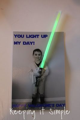 this will be hot NEXT valentine's day!! A light saber valentine.