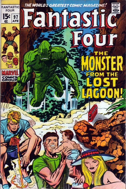 Fantastic Four 97 - Stan Lee and Jack Kirby