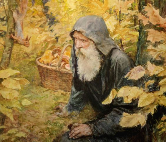 Виктор Бритвин - В лесу.