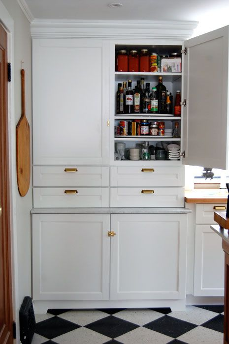 The 4 corners of the kitchen.The Pantry   Base cabinets, Pantry ...
