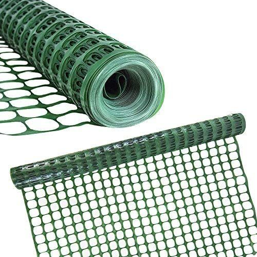 Houseables Snow Fence, Mesh Temporary Fencing, Plastic, Safety Garden  Netting, Single, Green,... in 2020 | Deer netting, Snow fence, Garden  netting