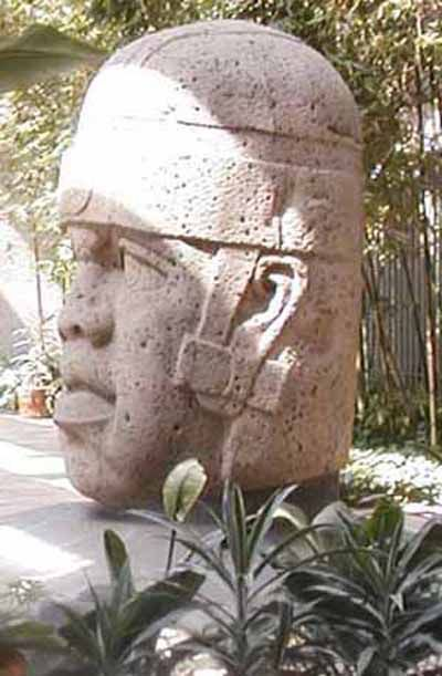 Ancient Olmec Civilization existed before the Aztecs and Mayan's appeared in South America.