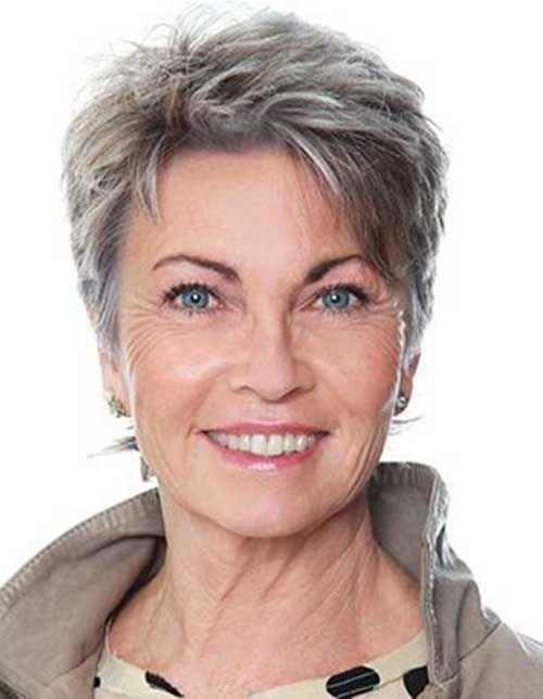 10 Short Hair For Older Women Short Choppy Hair Very Short Haircuts Very Short Hair