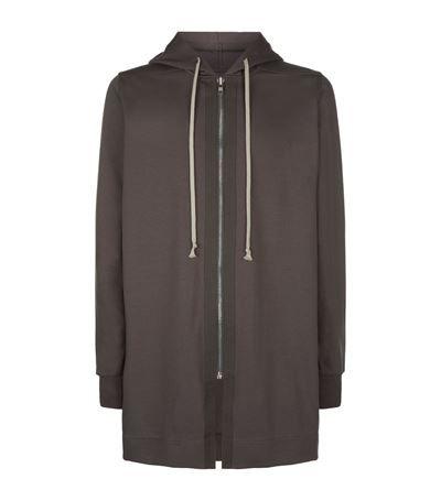 RICK OWENS Longline Zip Hoodie. #rickowens #cloth #