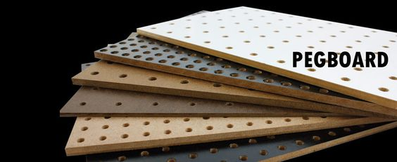 Pegboard Pegboards Pegboard Manufacturer Panel Processing Peg Board Wall Cladding Signage Design